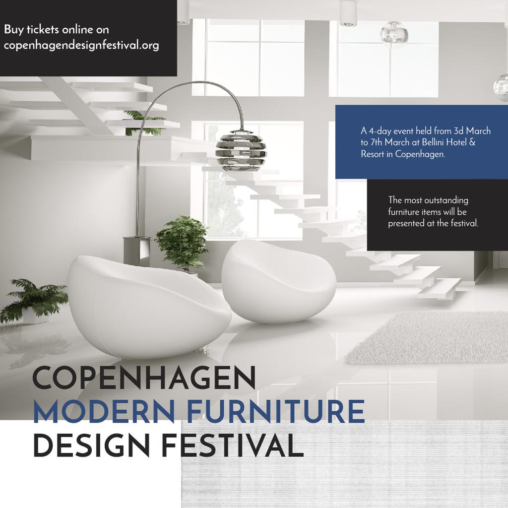 Copenhagen modern furniture design festival — Crea un design