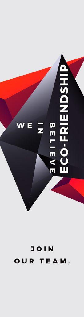 Eco-friendship concept — Maak een ontwerp