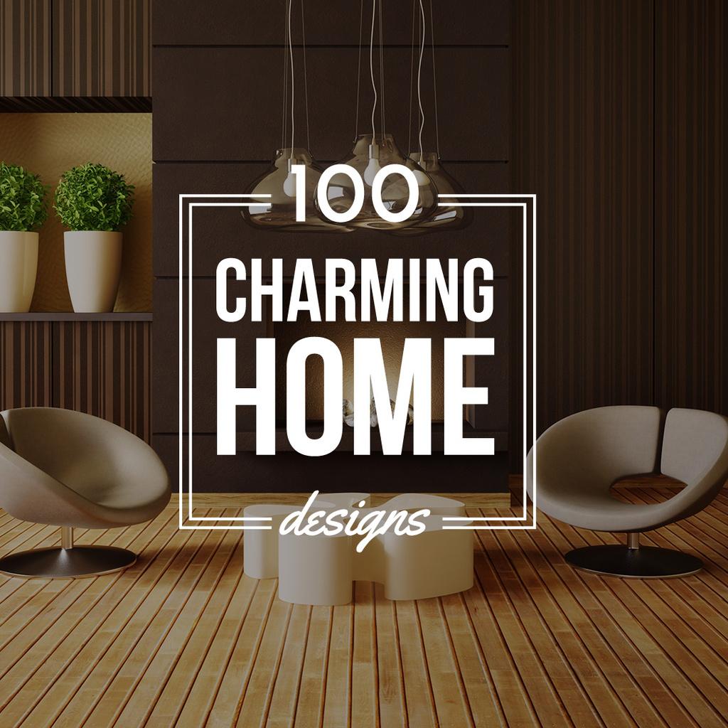Home Decor with Room Interior Design — Créer un visuel