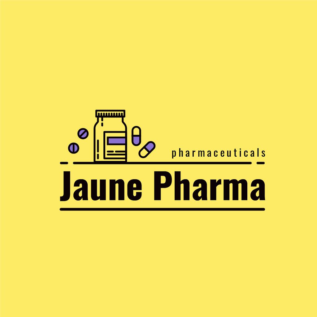 Pharmaceuticals Ad Pill Bottle — Створити дизайн