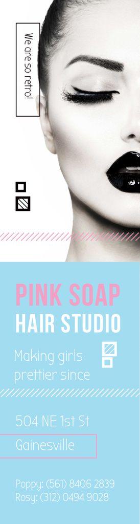Pink Soap Hair Studio — Crear un diseño
