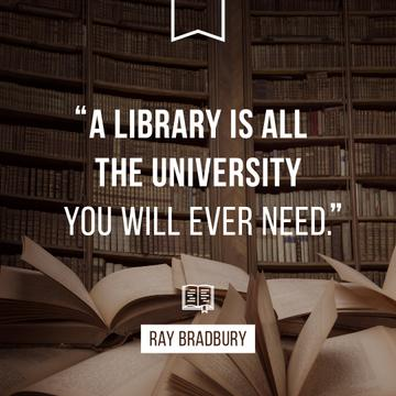 Citation about Library University