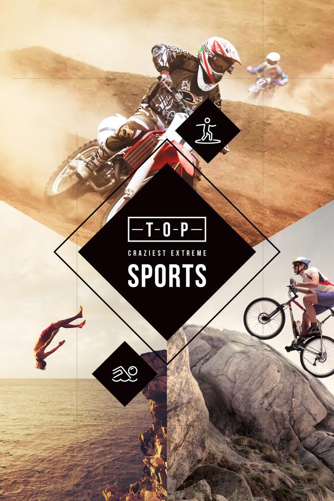 Top craziest extreme sports — Создать дизайн