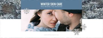 Skincare Guide Tender Couple in Winter Clothes