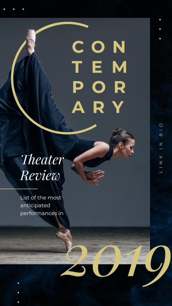 Passionate professional dancer — Create a Design