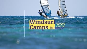 Windsurfing Tour Offer Men Riding Boards | Youtube Channel Art