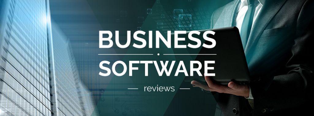 Business software reviews poster — Создать дизайн