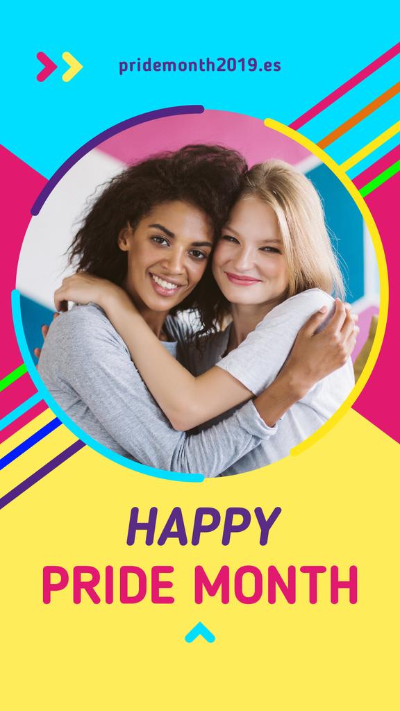 Two women hugging — Create a Design