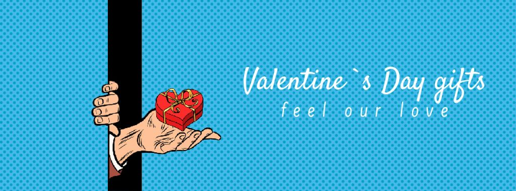 Special Valentine's Day's Gifts in Blue — Создать дизайн
