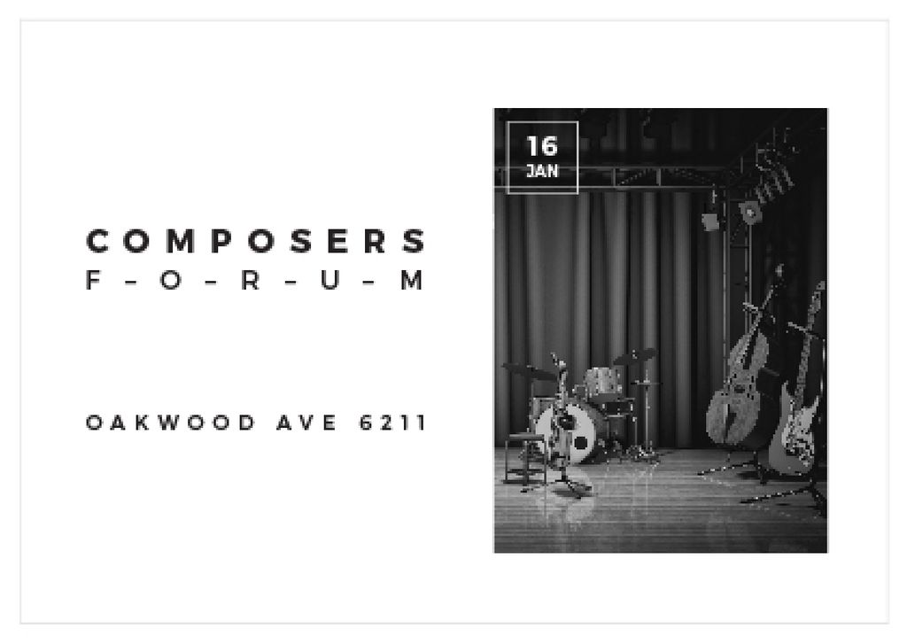 Composers Forum in Clayton Residence — Modelo de projeto