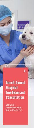 Ontwerpsjabloon van Skyscraper van Jarrell Animal Hospital