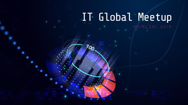 Ontwerpsjabloon van Full HD video van Glowing cyber circle