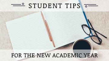 Student tips for the new academic year
