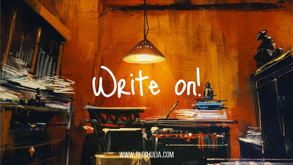 Writers Workplace in Mess — Crear un diseño
