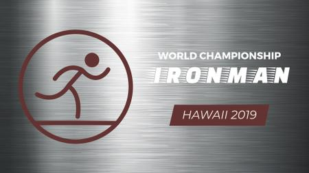 Triathlon Ironman Tournament Icon Full HD video Modelo de Design