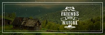 Make friends with nature poster