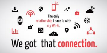 Wi-fi connection icons