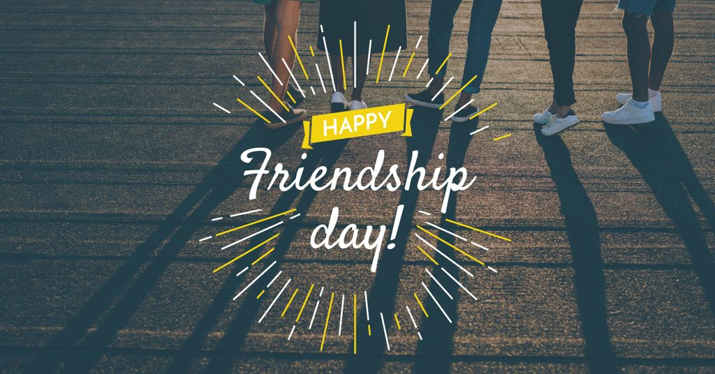 Friendship Day Greeting Young People Together – Stwórz projekt