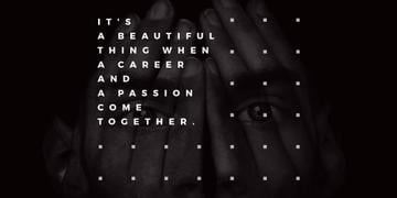 Citation about career and passion
