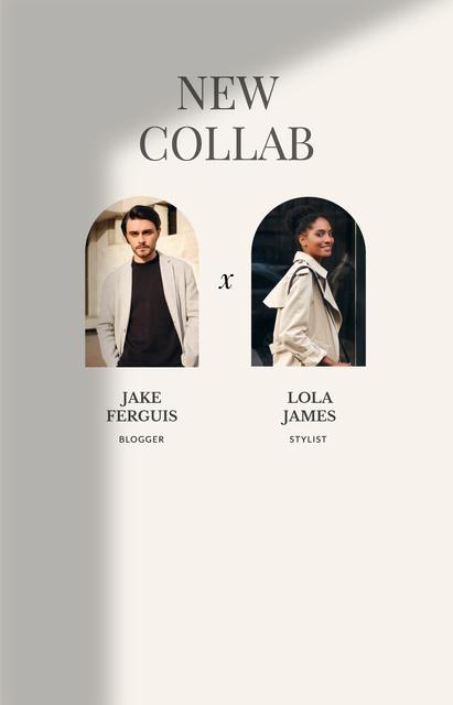Fashion Stylist and Blogger collaboration IGTV Cover – шаблон для дизайну