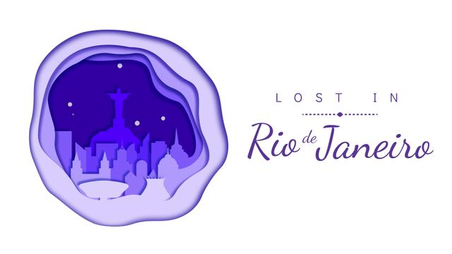 Plantilla de diseño de Rio de Janeiro famous travelling spots Full HD video