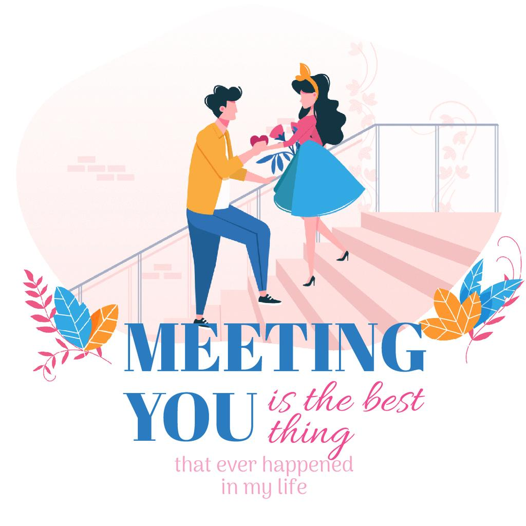 Happy romantic couple — Create a Design