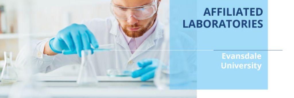 Affiliated laboratories in University — Modelo de projeto
