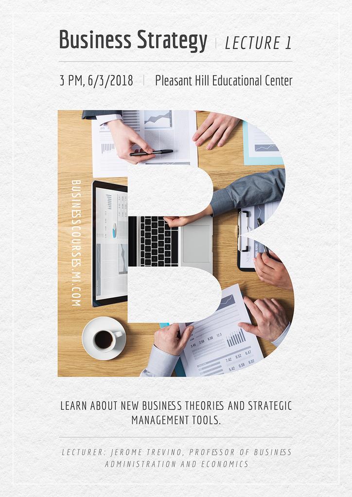 Business lecture in Pleasant Hill Educational Center — ein Design erstellen