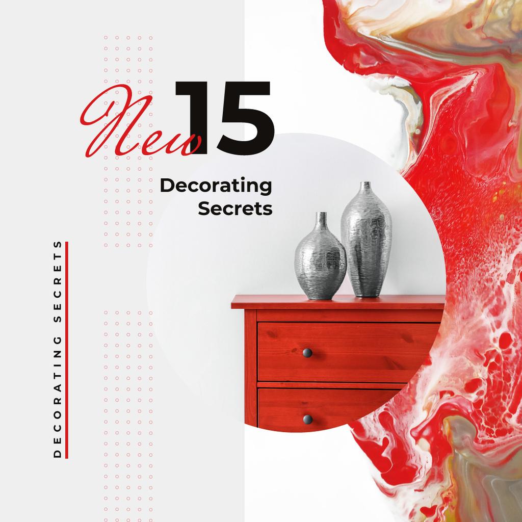 Vases for home decor — Crear un diseño