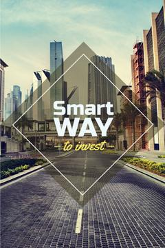 Smart investments concept