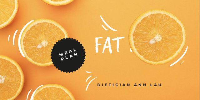 Plantilla de diseño de Healthy Meal Plan promotion Twitter