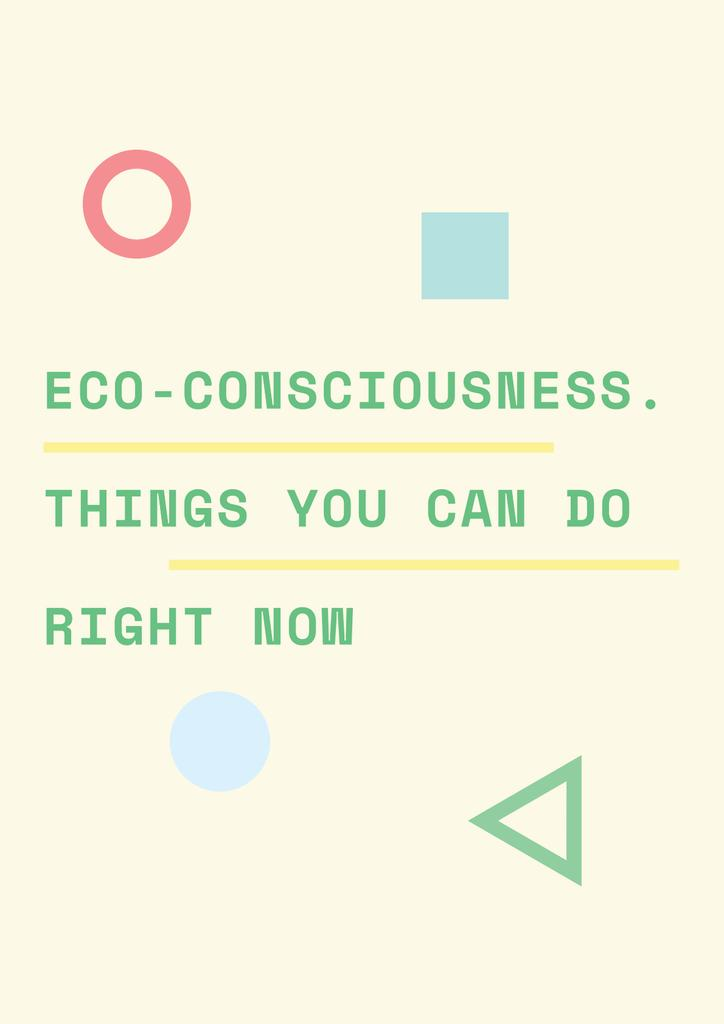 Eco-consciousness concept —デザインを作成する