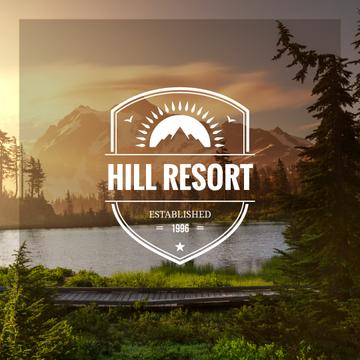 Hill resort poster