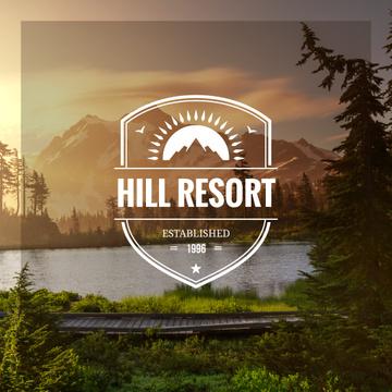 Hill resort poster