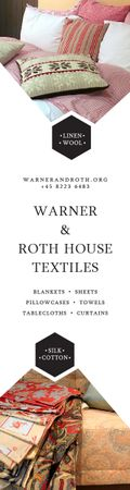 Warner & Roth House Textiles Skyscraper Design Template