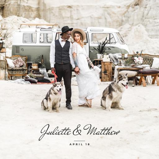 Wedding Shooting With Young Newlyweds PhotoBook