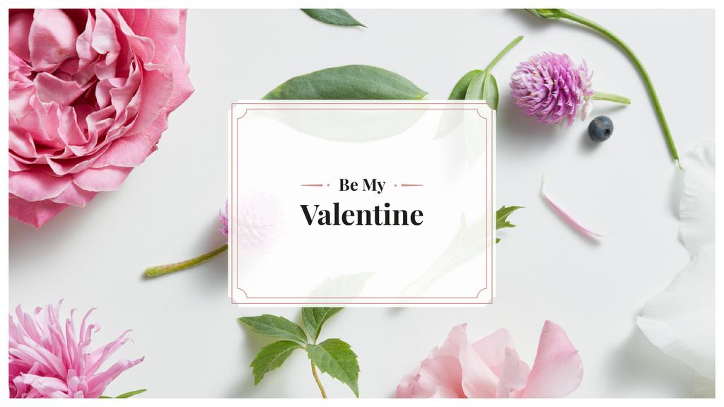 Happy Valentine Day card — Crear un diseño