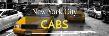 Taxi Cars in New York | Twitter Header Template