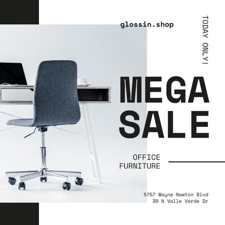 Office Armchair Offer in white Instagram – шаблон для дизайну