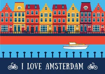 Amsterdam tour advertisement