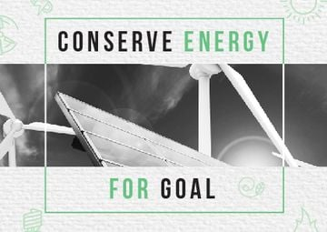 Concept of Conserve energy for goal