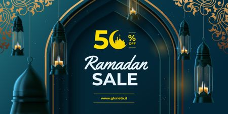 Modèle de visuel Ramadan kareem lanterns - Image