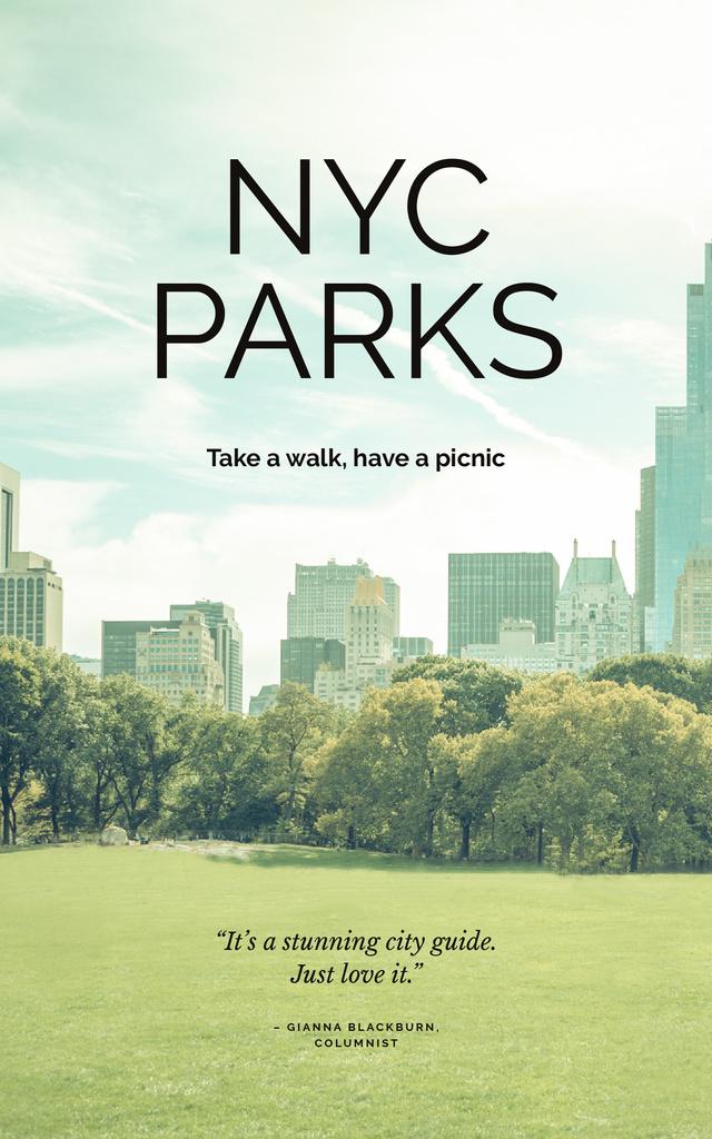 New York city park view — Maak een ontwerp
