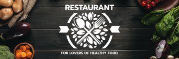 Healthy Food Menu in Vegetables Frame