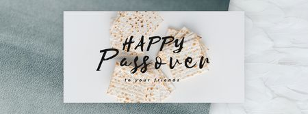 Happy Passover Unleavened Bread Facebook Video cover – шаблон для дизайна