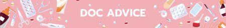 Doctor's Advice service Leaderboard – шаблон для дизайна