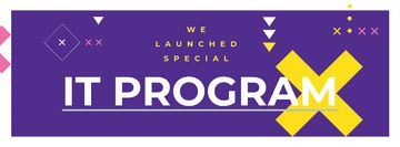 IT program promotion on Purple