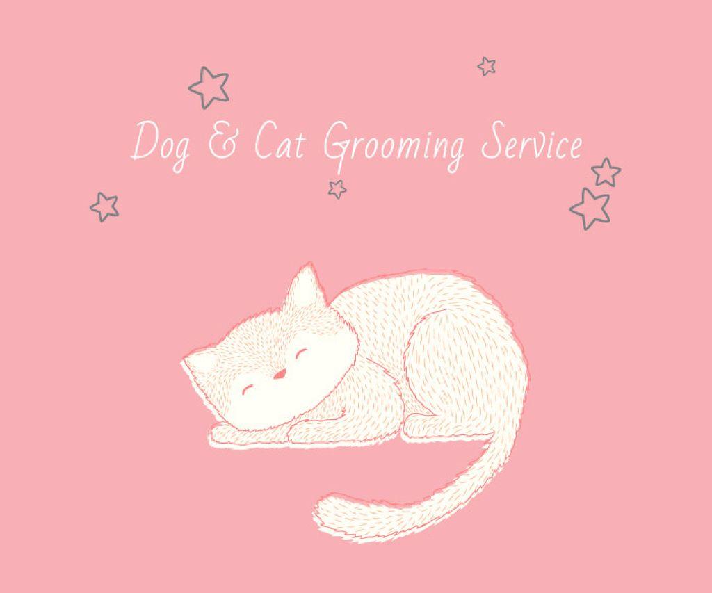Dog & Cat Grooming Service — ein Design erstellen