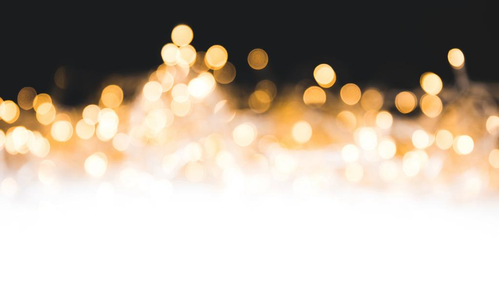 Glare of golden glittering lights — Crea un design