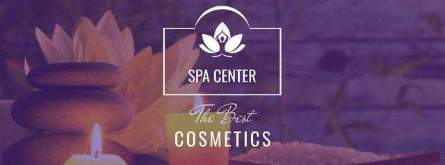 Plantilla de diseño de Spa center Special Offer Facebook cover